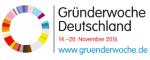 Logo Gründerwoche Deutschland 2016
